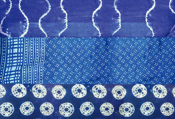 A Shibori and Indigo Workshop