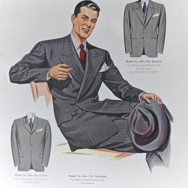 Cool scans of menswear illustrations