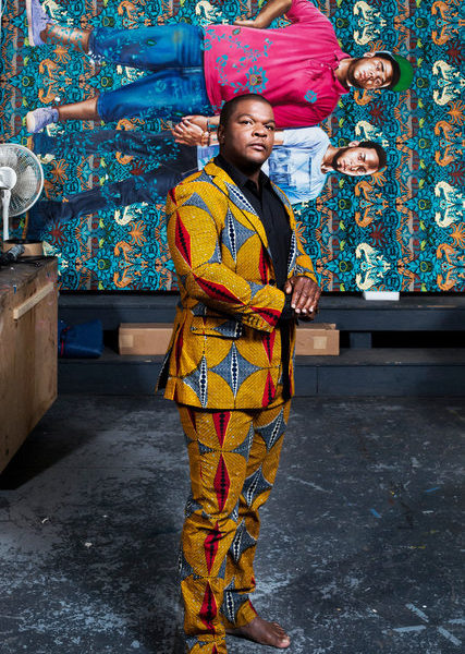 Suit as a Canvas: Kehinde Wiley's Awesome Tailoring