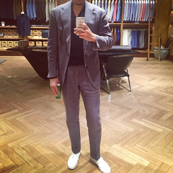 Casual Tailoring for Summer