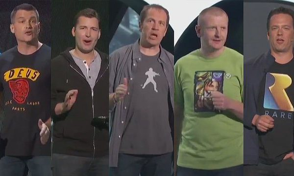 The clothes worn on stage at E3