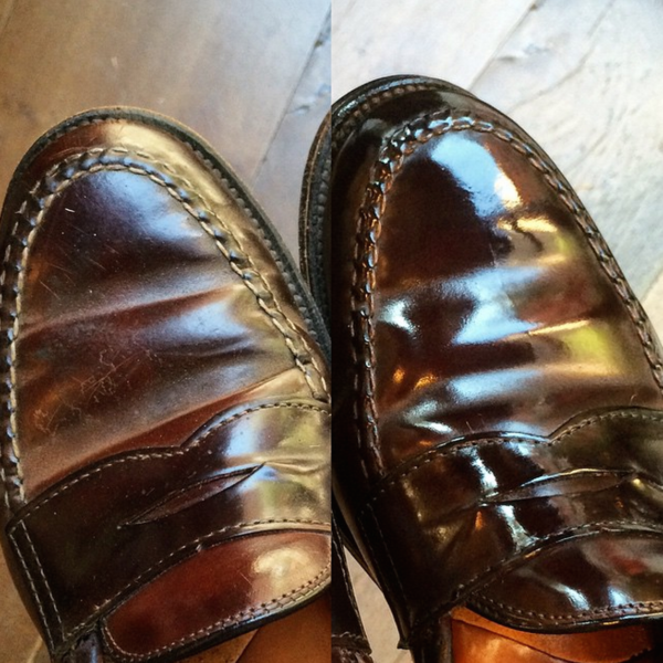 How to Raise a Shine on Shell Cordovan