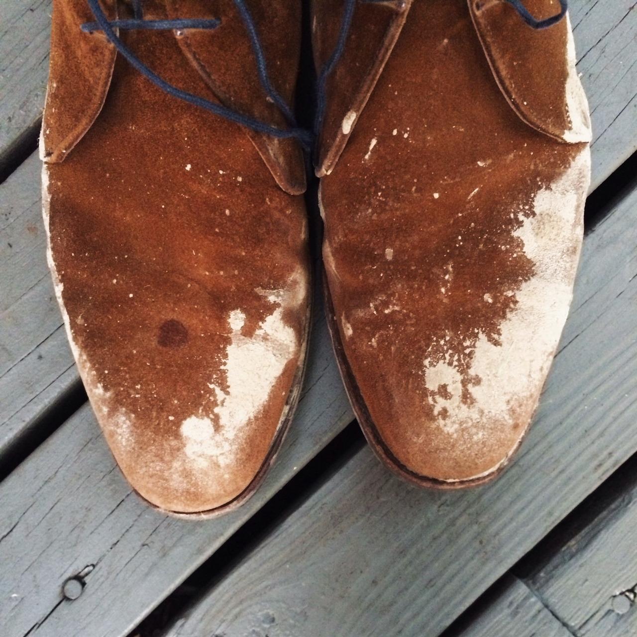 Please Mistreat Your Suede Shoes