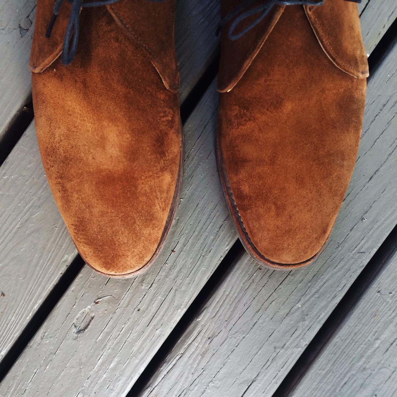 Please Mistreat Your Suede Shoes – Put