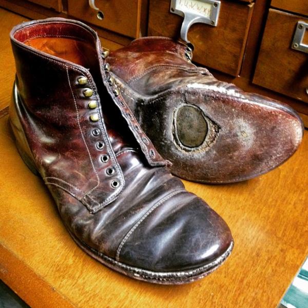 Repairing Alden's Shell Cordovan Boots