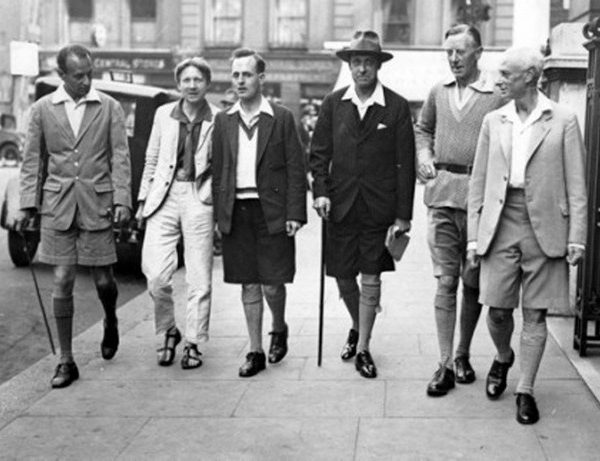 The History of Men's Right to Wear Shorts