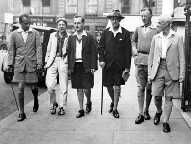 adafdeb786 The History of Men's Right to Wear Shorts – Put This On