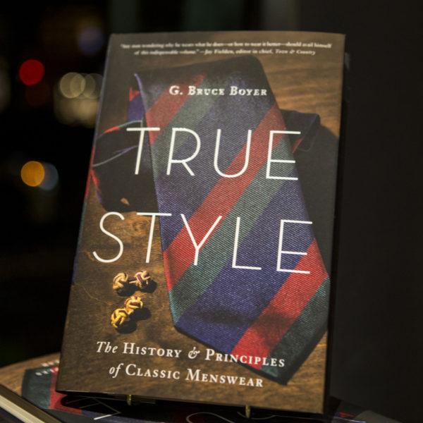 Bruce Boyer Book Signing