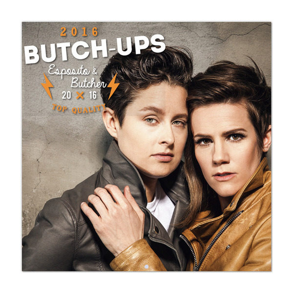 The Menswear for Ladies Calendar: Butch-Ups 2016