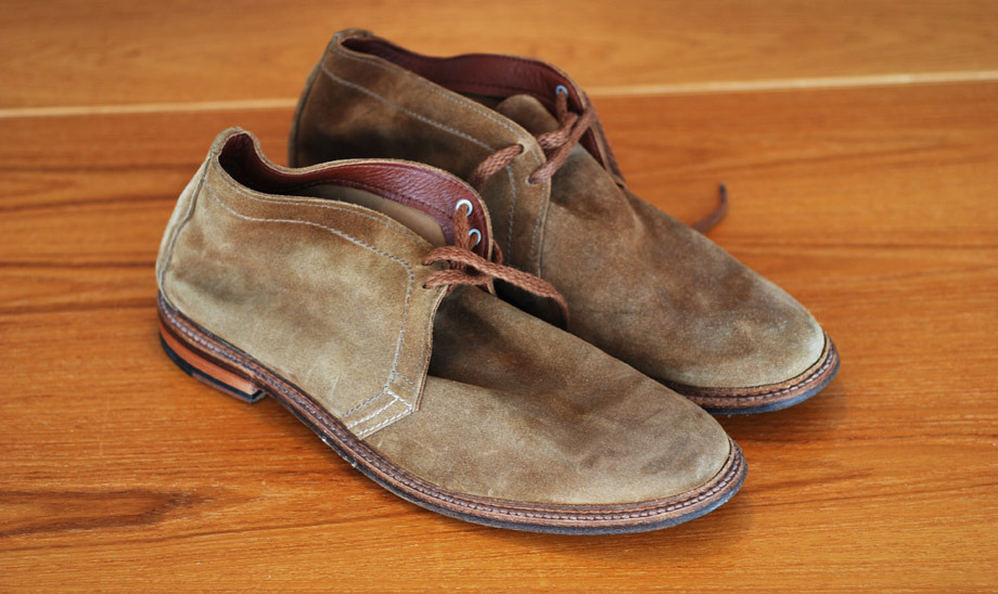 Q & Answer: Fear and Clothing (aka How to Take Care of Your Suede Shoes)