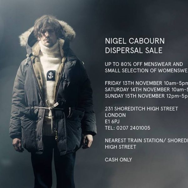 Nigel Cabourn Warehouse Sale