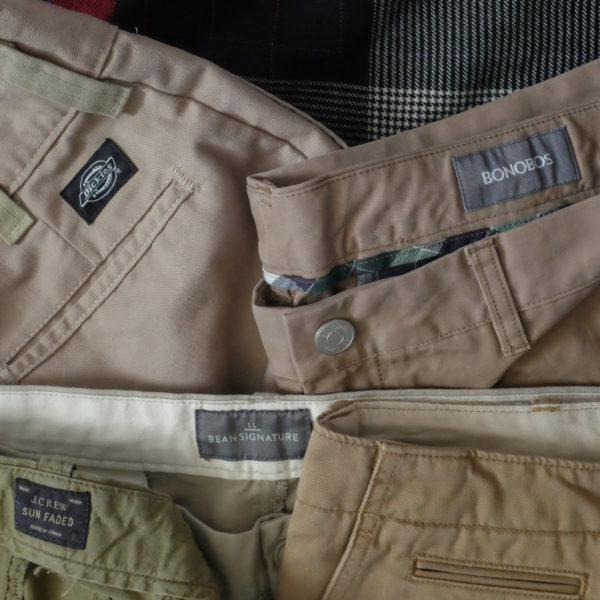 The Great Khaki Pants-Off