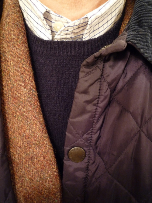 Fall Inspiration from Heavy Tweed Jacket