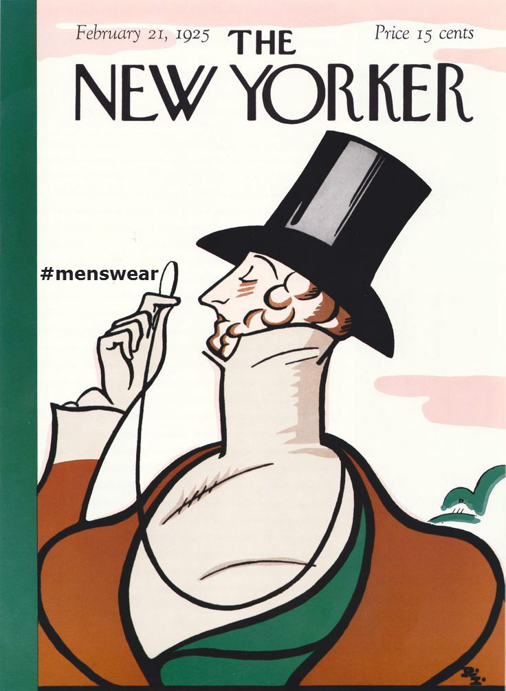 The New Yorker on the Cause and Effect of #menswear