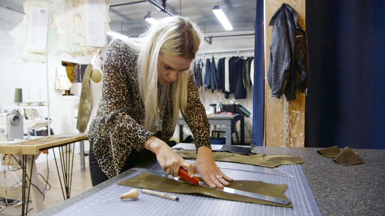 Atelier Savas: Making Bespoke Leather Jackets
