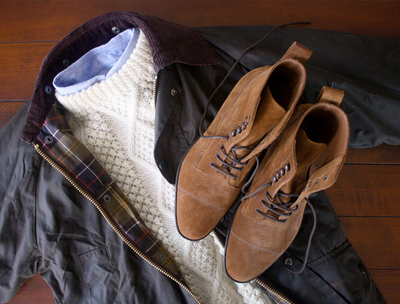 Layering Cold Weather Textures
