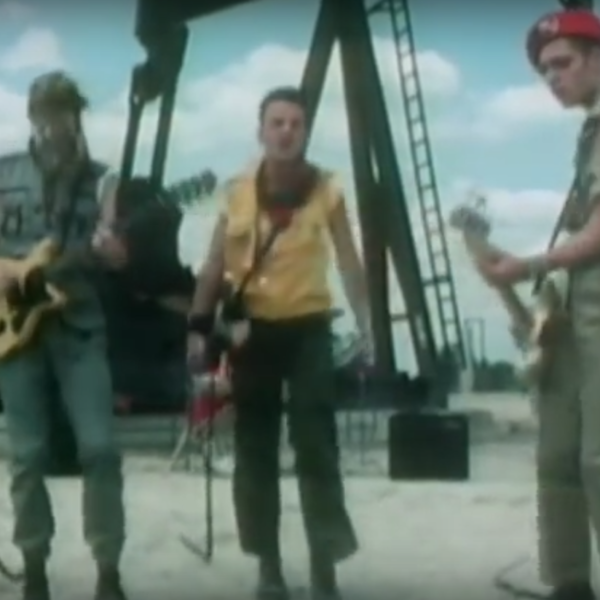 "The Story behind Mick Jones's Outfit in the ""Rock the Casbah"" Video"