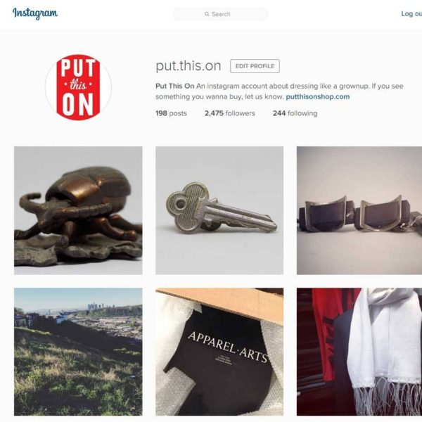 Join Us on Instagram with #PTOMan