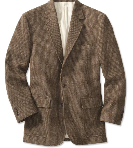 The $375 Tweed Sport Coat