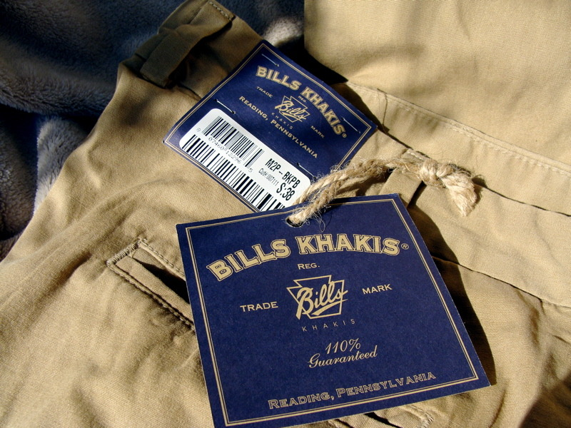 The Demise of Bills Khakis