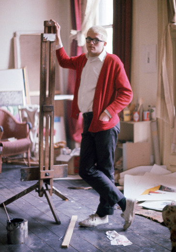 The Case for Color: the Style of David Hockney