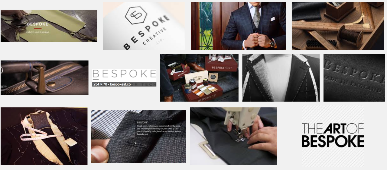 """Bespoke"": Semantically Adrift"