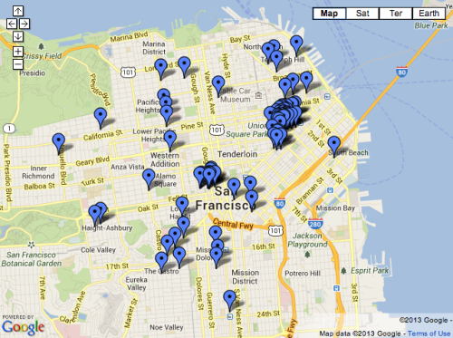 New StyleForum Shopping Maps