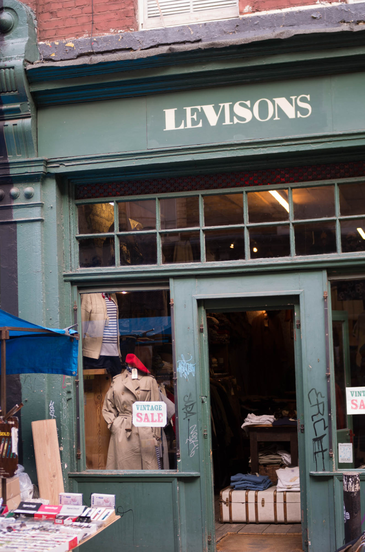 Vintage Menswear in London: Levison's