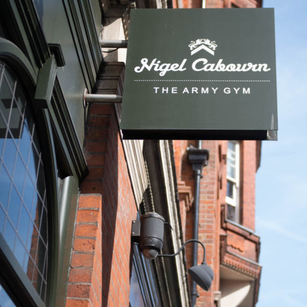 London: The Nigel Cabourn Army Gym
