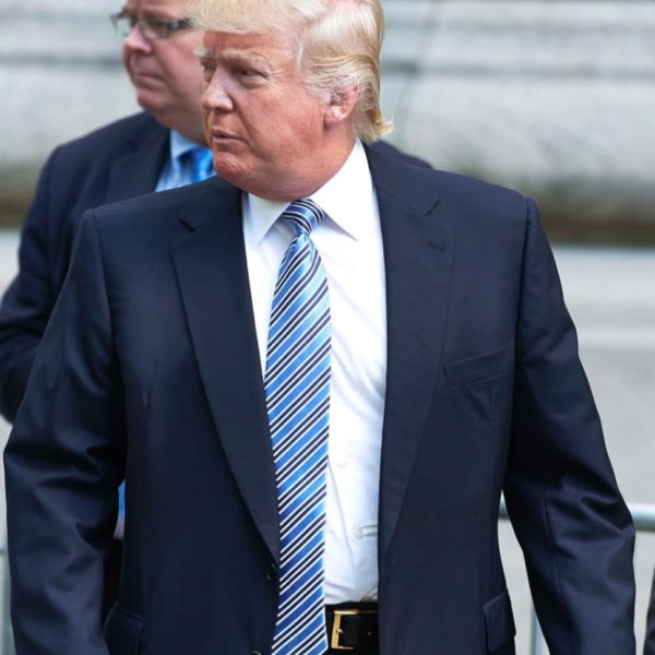 What's Up with Donald Trump's Suits?