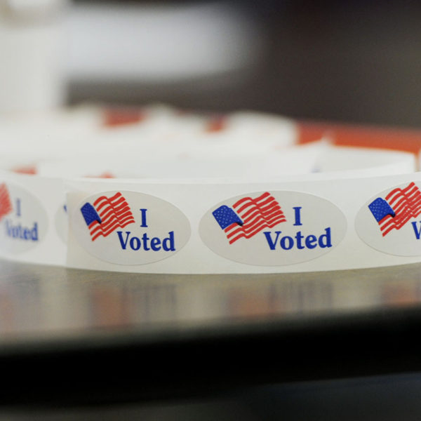 "The Story Behind That ""I Voted"" Sticker"