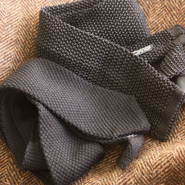 Wool Knit Ties for Fall