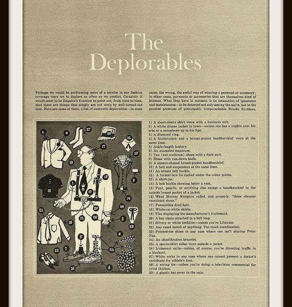 Esquire, 1968: The Deplorables