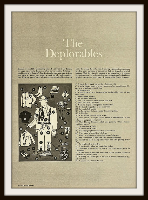 Esquire, 1968: The Deplorables
