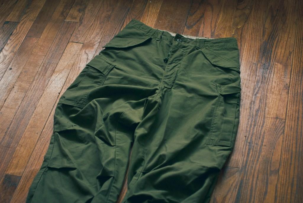 Revisiting Military Surplus Cargo Pants