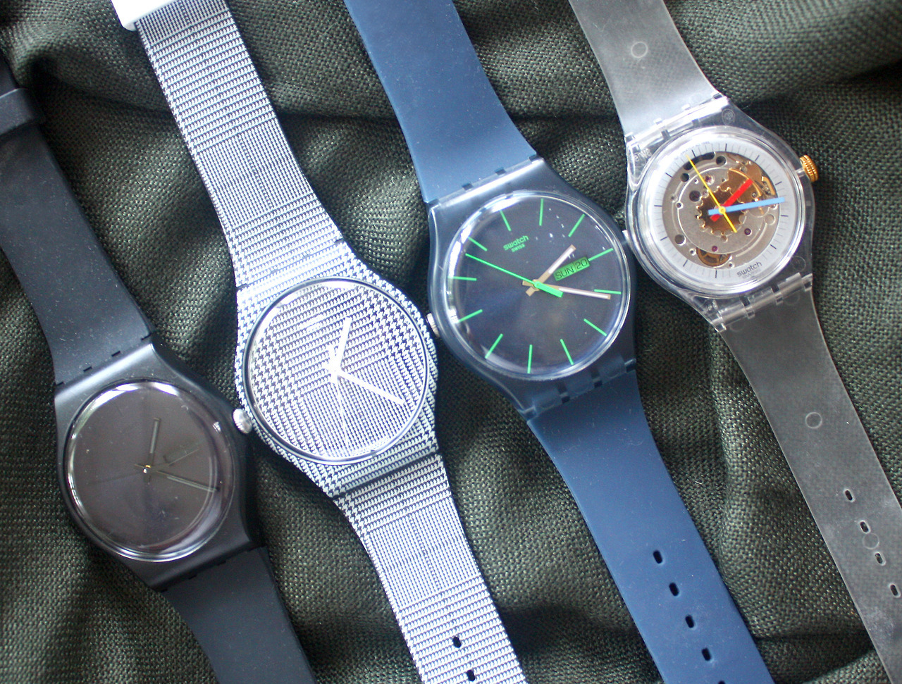 Colorful Swatch Watch for Spring