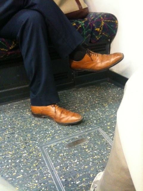 Stop Wearing Tan Shoes with Dark Suits
