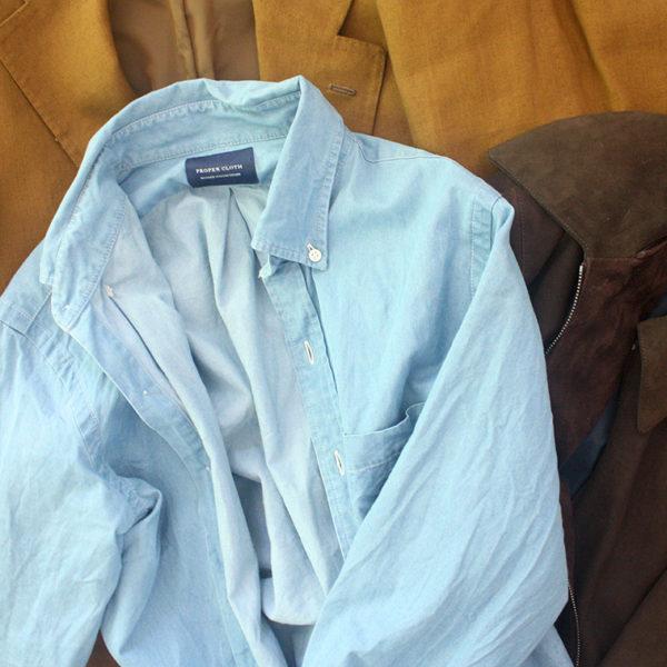 Proper Cloth's Washed Denim Shirts