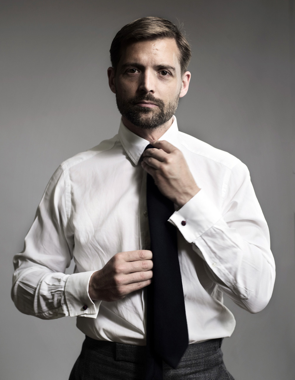 Better Ways to Wear a White Dress Shirt