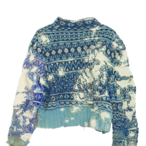 Arts and Craft: Celia Pym's Darned Sweaters