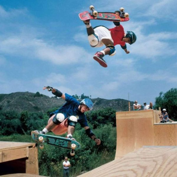 Steve Caballero describes the origins of the iconic Vans from 1989