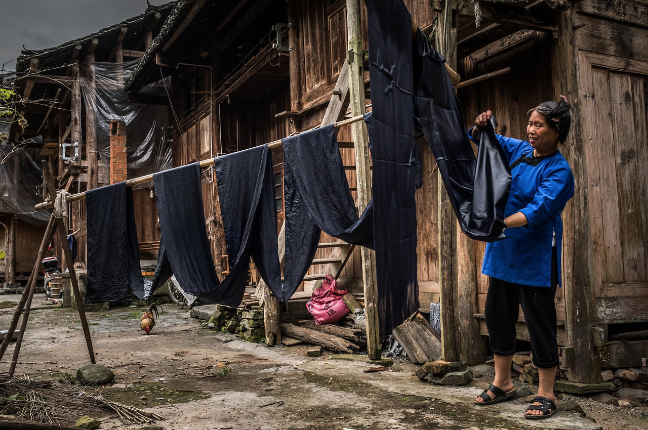 The Art of Indigo Dyeing in China