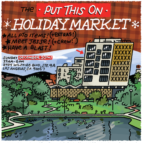 This Sunday! The Put This On Holiday Market