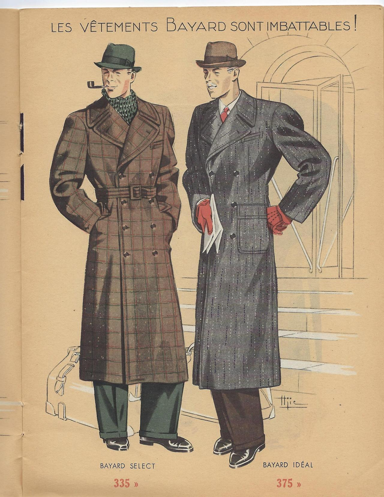 Bayard in the 1930s: Outerwear