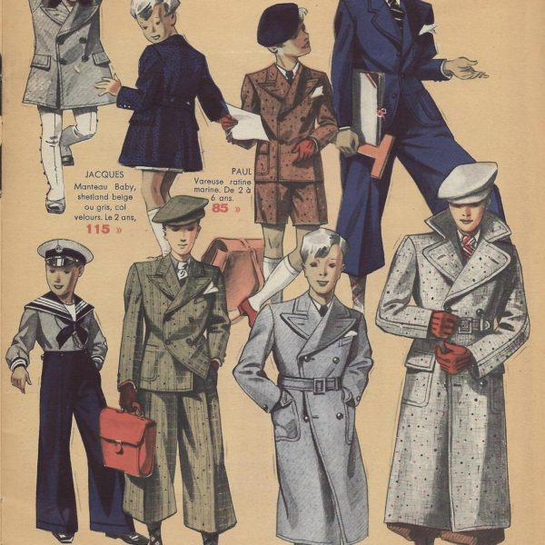 Bayard in the 1930s: Formal Wear, Kids & Women's