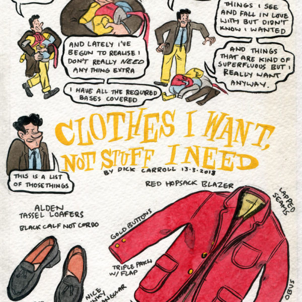 Style & Fashion Drawings: Clothes I Want Not Stuff I Need