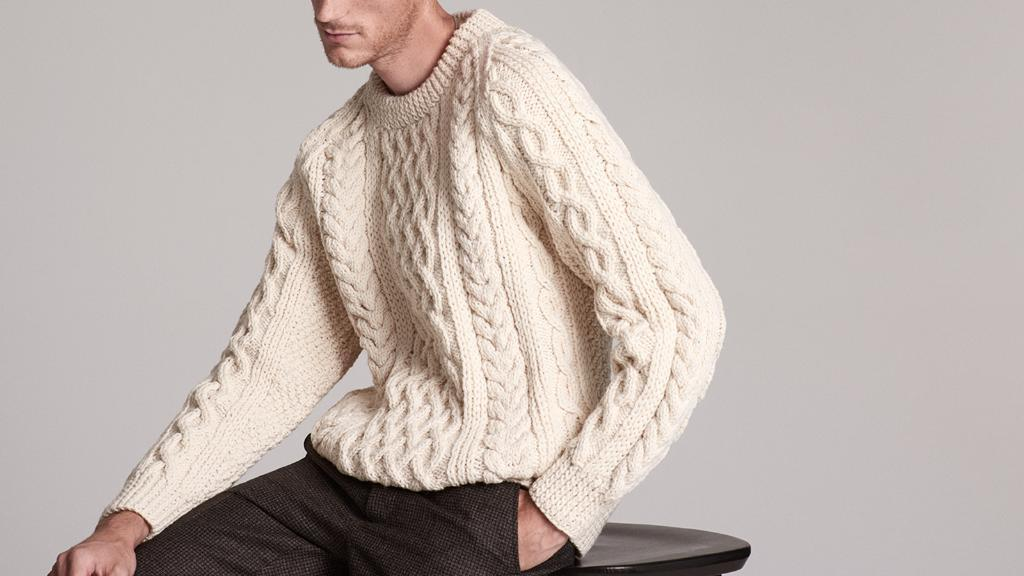 Guide To Buying A Good Aran Sweater Put This On