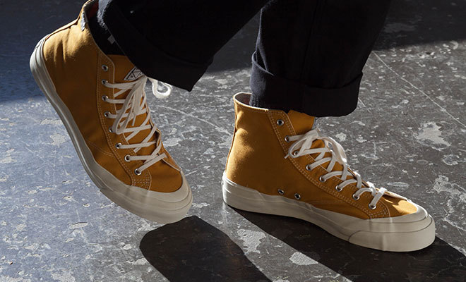 Moon-Star-made Sneakers from Huf