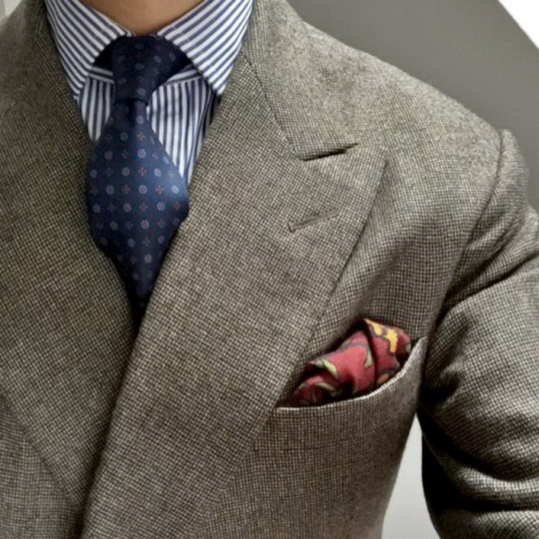 The Best Way to Fold a Pocket Square