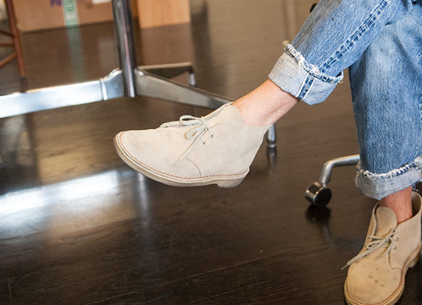 Quiet Soles: Clarks and Crepe-soled Shoes